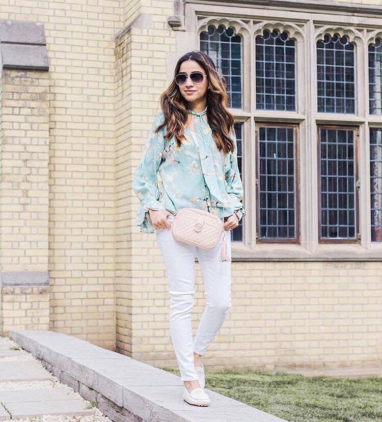 Zara Green Blouse collection 2017 Sincerely Humble 3